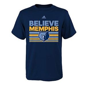 Youth Memphis Grizzlies Believe Ultimate Tee NWT S
